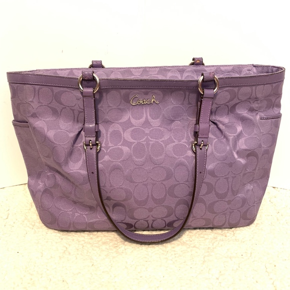 Coach Handbags - Coach Signature East West Tote Bag K1161-F17725